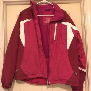 Girls Size L LL Bean Jacket